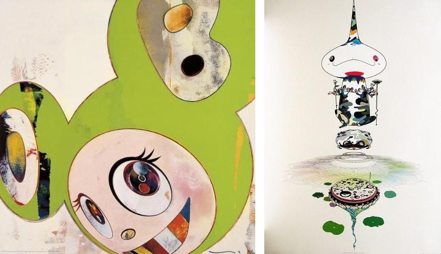 Takashi Murakami-And Then (Kappa), Reserved Double Helix-