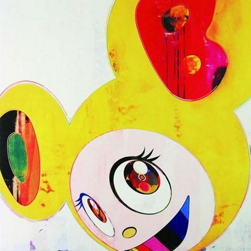Takashi Murakami-And Then (Lemon Pepper)-