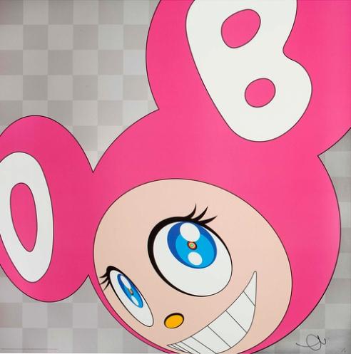 Takashi Murakami-And Then (Pink)-2011