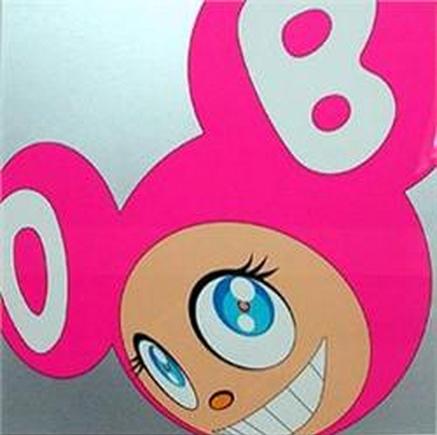 Takashi Murakami-And Then (Pink)-1999