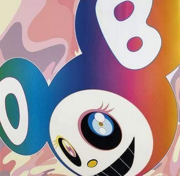Takashi Murakami-And Then Rainbow-2005