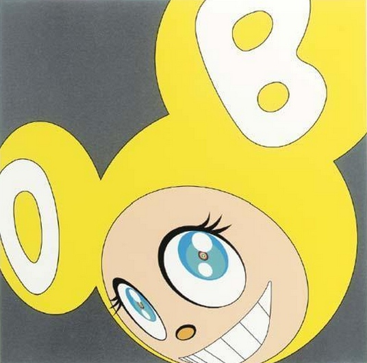 Takashi Murakami-And Then (Yellow)-1999