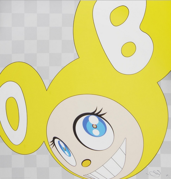 Takashi Murakami-And Then (Yellow)-2001