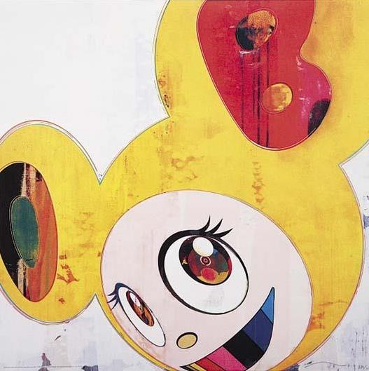 Takashi Murakami-And Then (Yellow Jelly)-2008