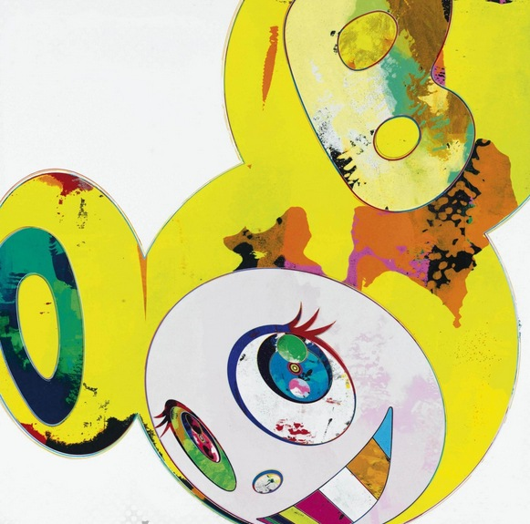 Takashi Murakami-And Then (Yellow Universe)-2001