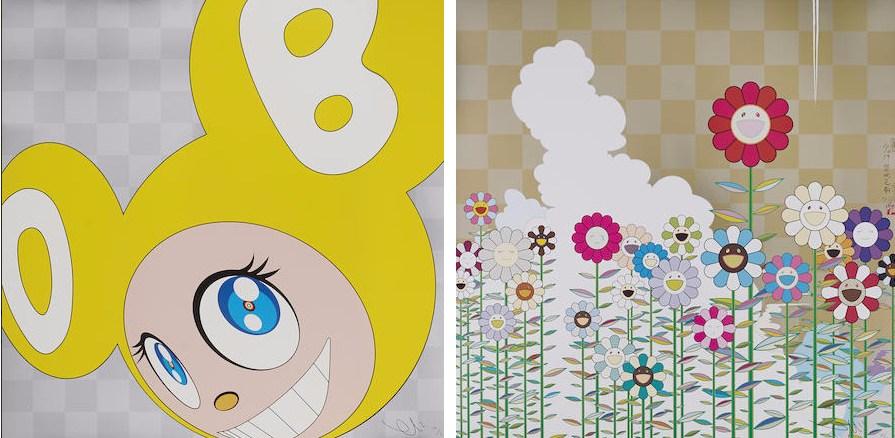 Takashi Murakami-And Then (Yellow), Warm and Sunny-2011
