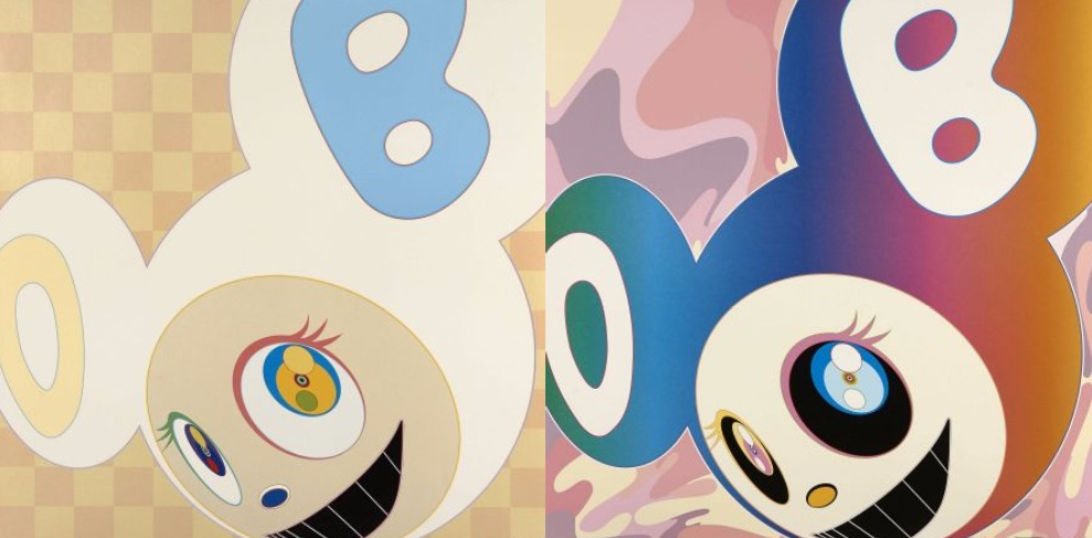 Takashi Murakami-And Then Ichimatsu Pattern, And Then Rainbow-2006