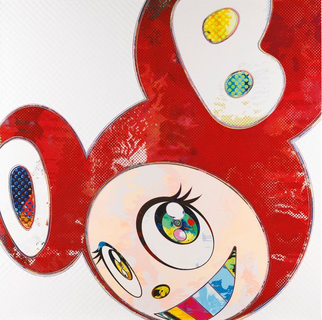Takashi Murakami-And Then, and Then and Then and Then and Then and Then Red Dots-2013