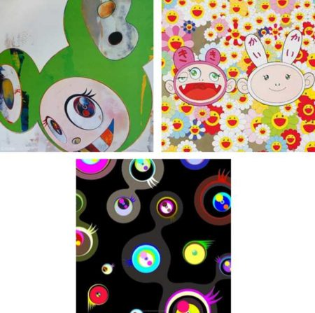 Takashi Murakami-And then Kappa, Kaikaikiki news, Jellyfish Eyes-Black 2-2011
