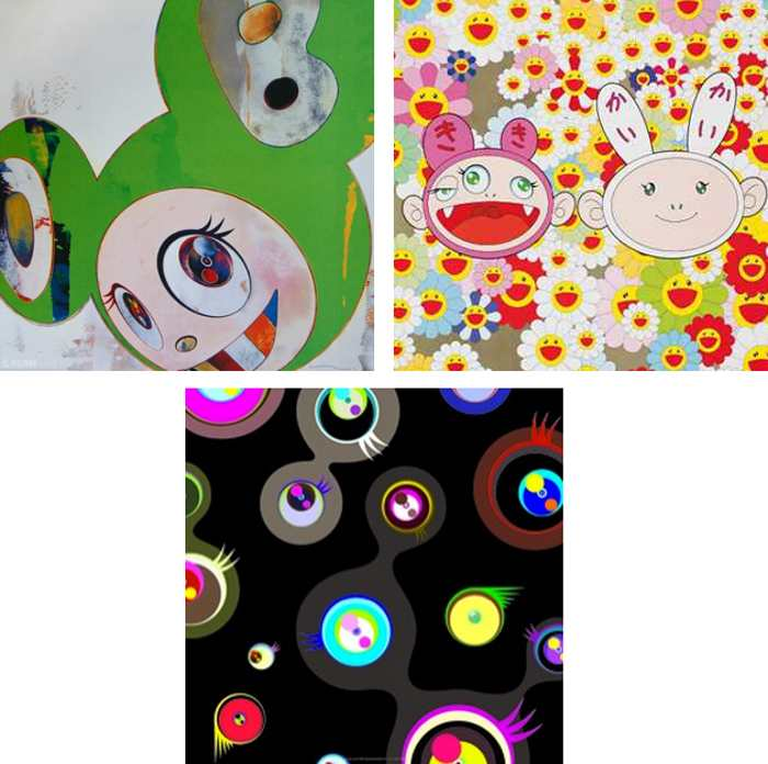 Takashi Murakami-And then Kappa, Kaikaikiki news, Jellyfish Eyes-Black 2-2011