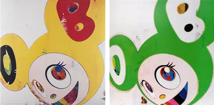 Takashi Murakami-And then (Lemon Pepper, Green Truth)-2008