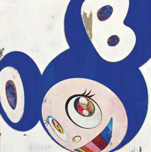 Takashi Murakami-And then, and then, and then, and then and then/Super Blue Dob-2006