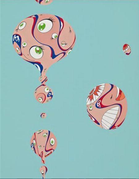 Takashi Murakami-Anthology (Blue)-1998