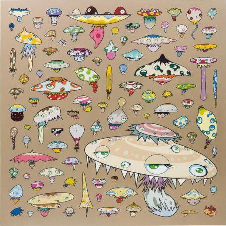 Takashi Murakami-Army of Mushrooms-2002