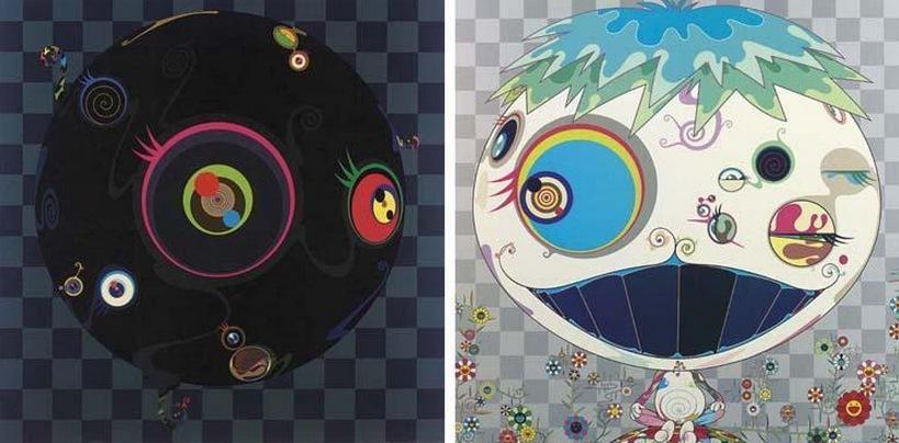 Takashi Murakami-Blackbeard, Jelly Fish-2003