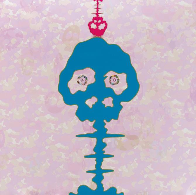 Takashi Murakami-Bokan - Camouflage Pink-2009