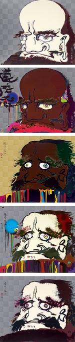 Takashi Murakami-Buddha series-