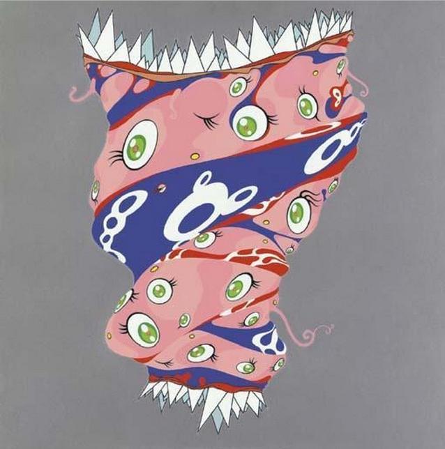 Takashi Murakami-Chaos-1999