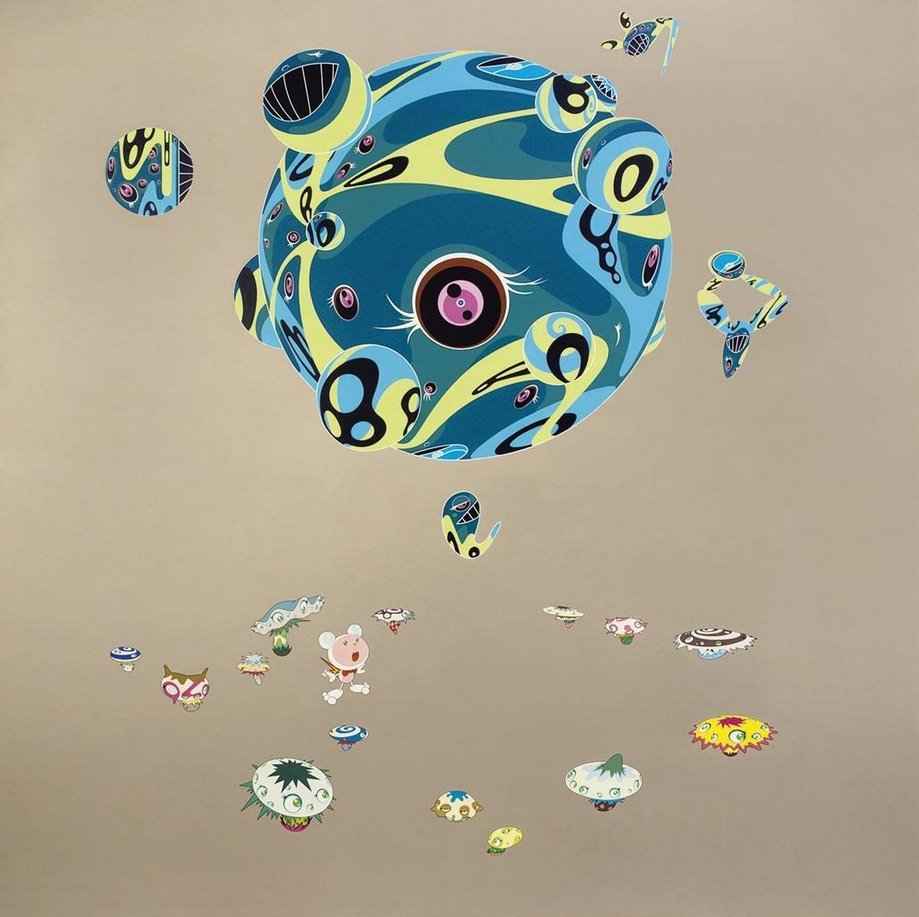 Takashi Murakami-Close Encounters of the Third Kind-2002