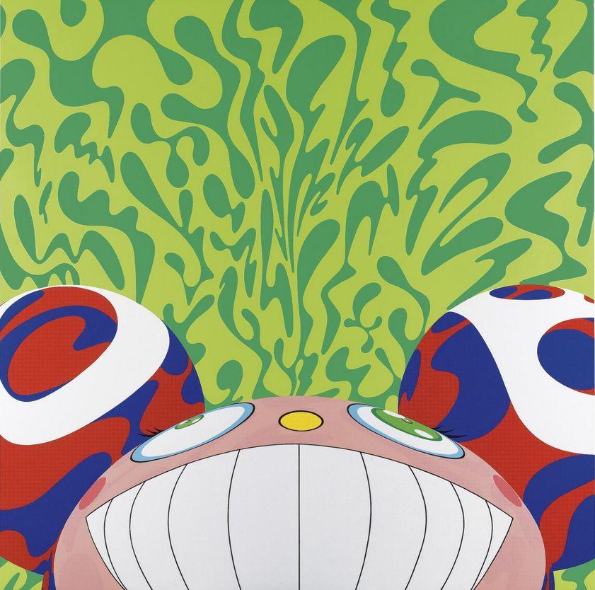 Takashi Murakami-DOB Camouflage-2000