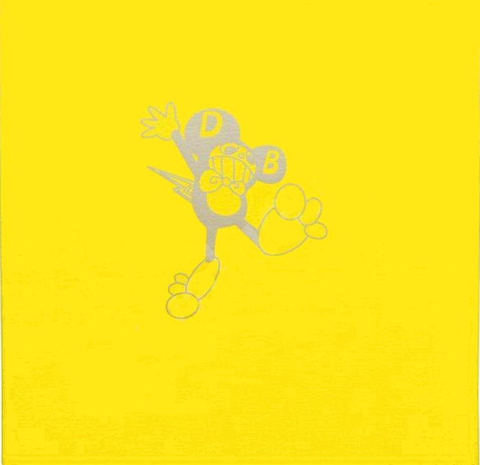 Takashi Murakami-DOB-Kun (yellow)-1994