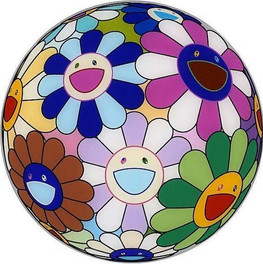 Takashi Murakami-Dinner Plate from opening dinner for Murakami exhibition-2008