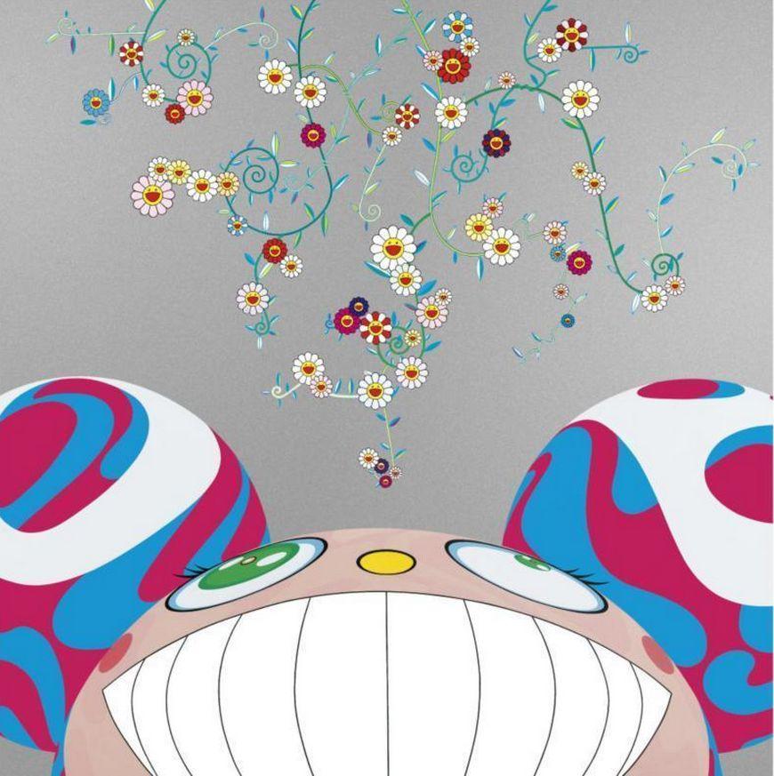 Takashi Murakami-DOB Flower-2000