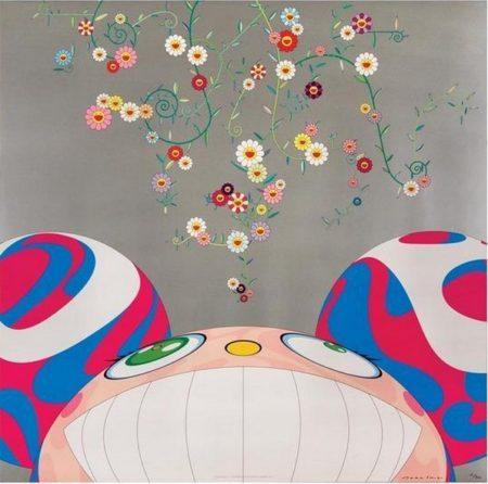 Takashi Murakami-DOB Flower-2001