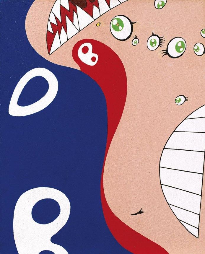 Takashi Murakami-DOB (Klien's Pot Series)-1997