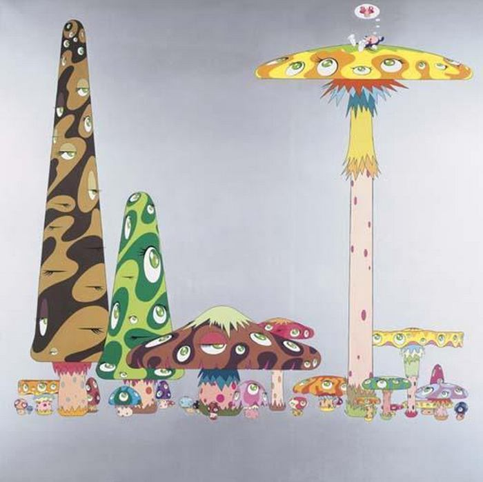 Takashi Murakami-Dream of Opposite World-1999