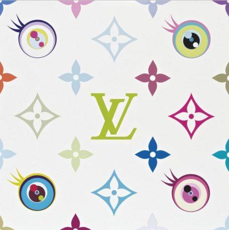 Takashi Murakami-Eye Love Superflat (White)-2003