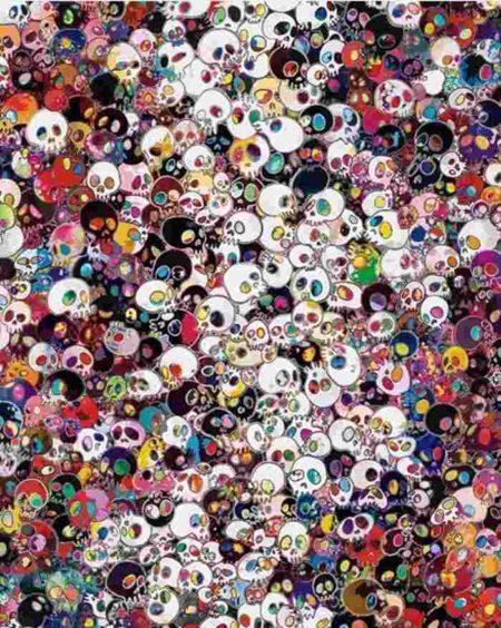Takashi Murakami-Fate's Inevitable Approach, My Inevitable Laughter-2011