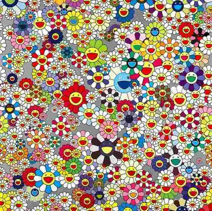 Takashi Murakami-Flower-2003