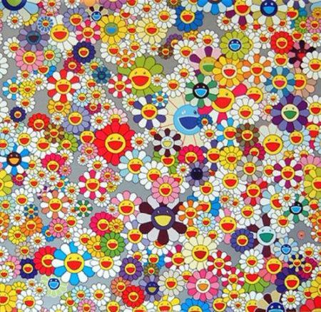 Takashi Murakami-Flower-2006