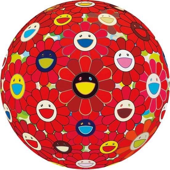 Takashi Murakami-Flower Ball-2012