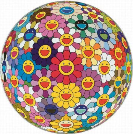 Takashi Murakami-Flower Ball (3D)-2002