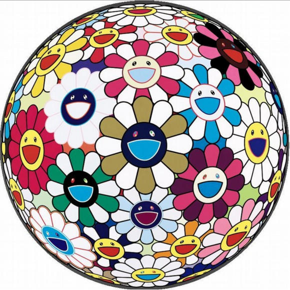Takashi Murakami-Flower Ball 3D-2004