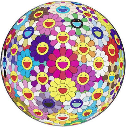Takashi Murakami-Flower Ball (3D)-2011