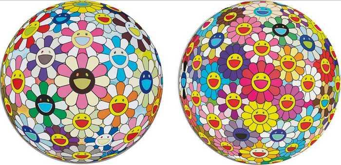 Takashi Murakami-Flower Ball (3D), Flowerball Cosmos (3D)-2008