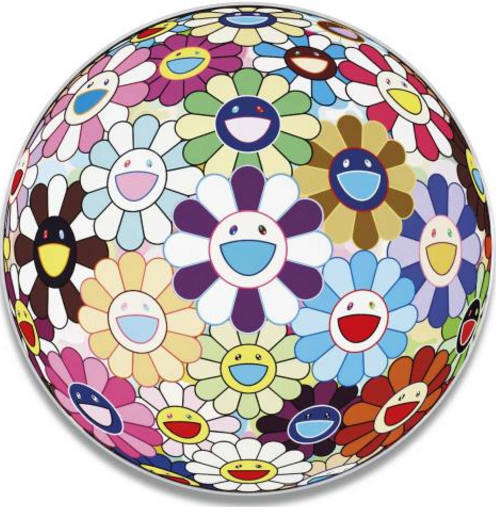 Takashi Murakami-Flower Ball (3D) Kindergarten-2007