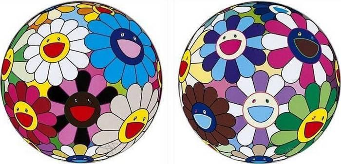 Takashi Murakami-Flower Ball (Algae Ball), Flower Dumpling-2013