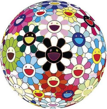 Takashi Murakami-Flower Ball (Blood) 3D -V-2007
