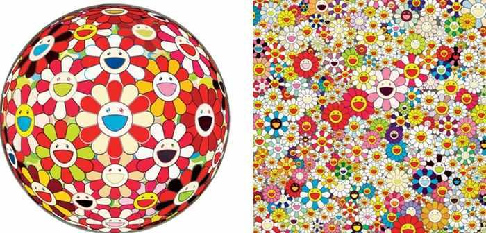Takashi Murakami-Flower Ball, Flower Garden of Paradise-