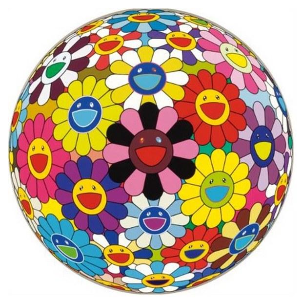 Takashi Murakami-Flowerball (3D) Kindergarten-2007