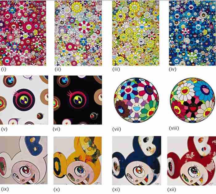 Takashi Murakami-Flower Dumpling (and 11 other works)-2013