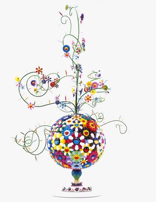 Takashi Murakami-Flower Matango-2001