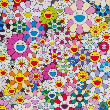 Takashi Murakami-Flower Smile-2011