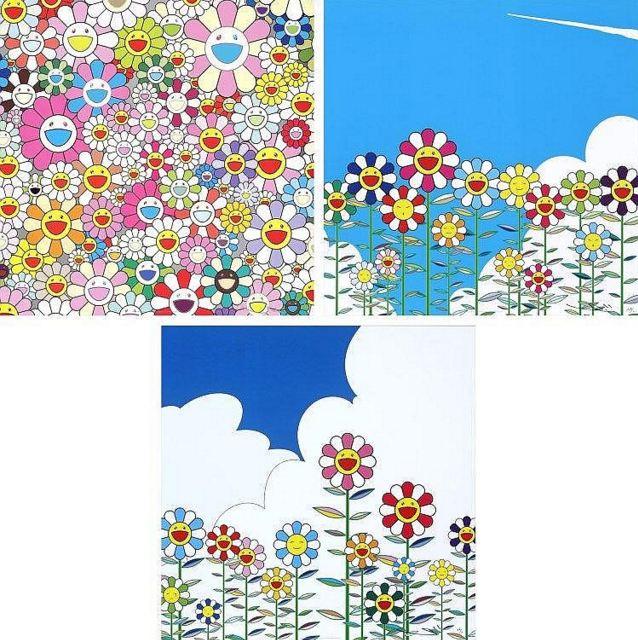 Takashi Murakami-Flower Smile; Flower; Flower 2-2011