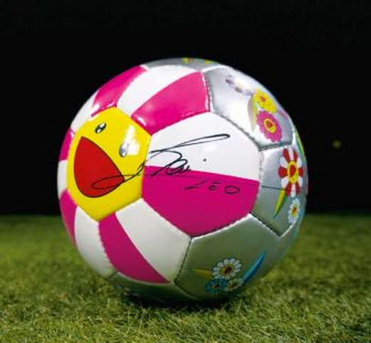Takashi Murakami-Flower Ball (Football)-2002