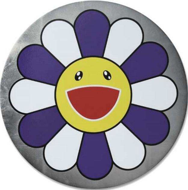 Takashi Murakami-Flower of Joy (Blueberry Mint)-2007